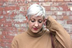 An Everyday Sort of Outfit for Autumn - Lipstick, Lettuce & Lycra Pixie Cut With Undercut, Pixie Cuts, About Hair, Vintage Hairstyles, Autumn, Hair Styles, Classic, Outfits, Fashion