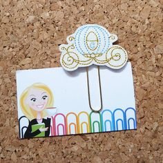 Carriage Bookmark