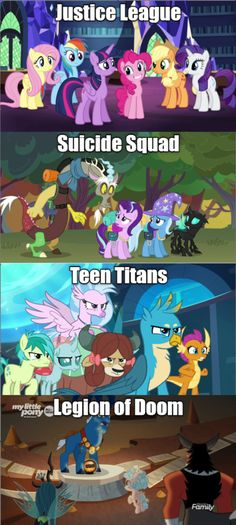 My Little Pony Friendship is Magic Discussion Thread Current Season 9 - TV Show My Little Pony Comic, My Little Pony Drawing, My Little Pony Pictures, Mlp Comics, Funny Comics, Equestria Girls, Apple Jack, Mlp Memes, Queen Chrysalis