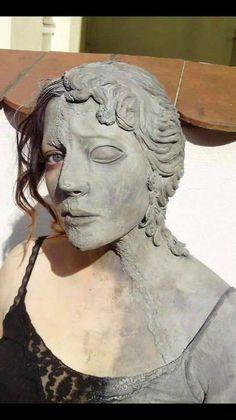 Sculpture meets real life