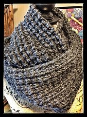Ravelry: Clever Cowl pattern by Deb Buckingham free pattern