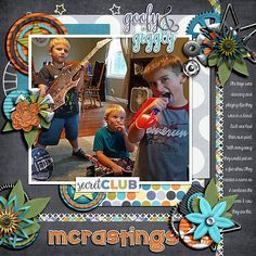 My son (singer) and nephews in their new band. :-) A combination of their last names.    credits: Boy Zone by Bella Gypsy Designs and Stack Pack Vol.1 by Dagi Temptations
