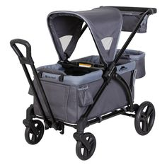 Shop for Baby Trend Expedition 2 in 1 Stroller Wagon Plus, Ultra Grey. Get free delivery On EVERYTHING* Overstock - Your Online Baby Gear Shop! Used Strollers, Double Strollers, Baby Strollers, Pull Wagon, Delta Children, Future Children, Built In Seating, Baby Gear, Future Baby