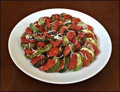 Abobrinha e Tomate Seco