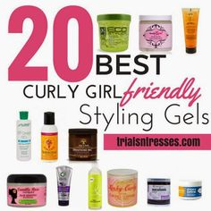 Hair Mary: Curly Girl Method [5]: CG Approved Styling Gels and Creams