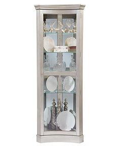 Veronica Curio Cabinet, Concave Corner   Furniture   Macyu0027s ~ Possibility  For Dining Room