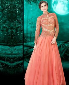 Buy Shapely Pink Party Wear Gown online at  https://www.a1designerwear.com/shapely-pink-party-wear-gown-3  Price: $64.69 USD