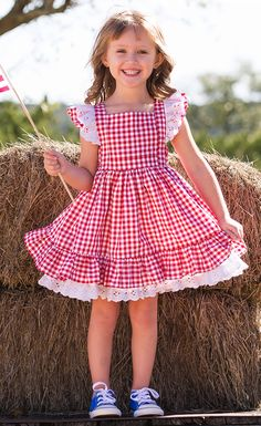 491330d3afc Fourth of July Fair Dolly Dress