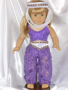 Nutcracker Dance Outfit for an 18 inch by DancinDollsDesigns