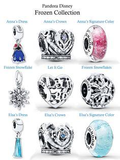 Pandora Disney, Frozen Collection