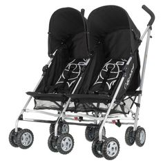 OBaby Apollo Twin Scribble Stroller