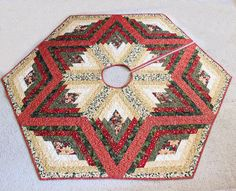 Click Here To View Larger Image Of CHRISTMAS TREASURES TREE SKIRT PATTERNS