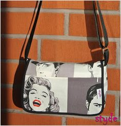 styde: Marilyn - olkalaukku #marilyn #shoulderbag Messenger Bag, Satchel, Shoulder Bag, Bags, Handbags, Satchel Bag, Totes, Hand Bags, Purses