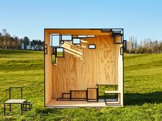 Filip Janssens' modular volumes offer a new experience of outdoor space - News - Frameweb