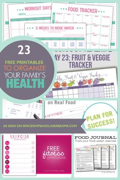 Are you taking care of the whole family? Make it a little easier with these free. Are you taking care of the whole family? Make it a little easier with these free printables to organize your family's health. Fitness Binder, Fitness Planner, Fitness Tips, Health Fitness, Exercise Planner, Workout Planner, Health Planner, Printable Workouts, Student Planner