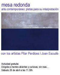 Mesa Redonda sobre Arte Contemporaneo
