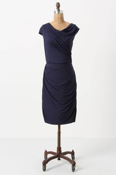 Anthropologie - Given Then Gathered Column Dress. Totally my style.