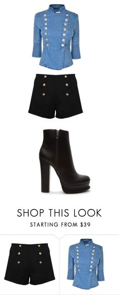 """""""Untitled #6645"""" by bellagioia ❤ liked on Polyvore featuring Paprika, Pierre Balmain and Forever 21"""