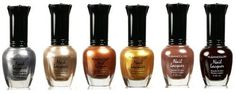 Kleancolor Nail Polish Lacquer Moonrise Fever Brown Lot 6pc Full Size Set >>> Click image to review more details. (Note:Amazon affiliate link)