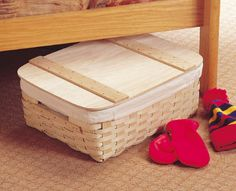 Tuck-Away Storage Baskets & Lids