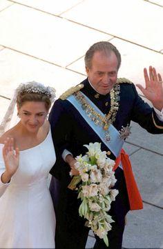 King Juan Carlos of Spain & Infanta Cristina...royal wedding