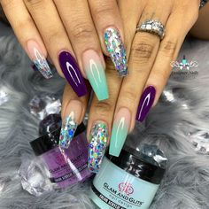 Want some ideas for wedding nail polish designs? This article is a collection of our favorite nail polish designs for your special day. Glam Nails, Fancy Nails, Bling Nails, Beauty Nails, Bling Nail Art, Beauty Makeup, Gorgeous Nails, Fabulous Nails, Pretty Nails