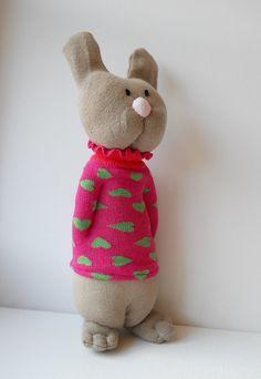 Sock Valentine rabbit | Flickr - Photo Sharing!