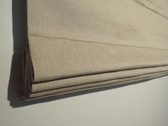 Ready-Made Classic Style Roman Shade, 100% Heavy Linen, 32 x 55, Roman Blind, Window Covering by nikkidesigns on Etsy