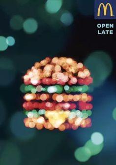 法国麦当劳超浪漫!光影大片看得我心都化了
