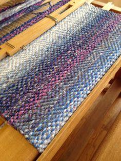 Vävstuga Tapestry Weaving, Loom Weaving, Hand Weaving, Woven Rug, Woven Fabric, Tear, Recycled Fabric, Wall Hanger, Rug Hooking