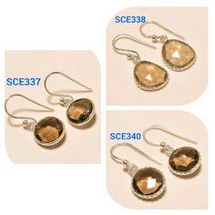 92.5 Sterling Silver Faceted Smoky Quartz Gemstone Handmade Designer Earrings     Handmade    SKU#- SCE337,  Weight- 2.00 Gms.,   Length- 1'' inches, Gemstone- Smoky Quartz Faceted 10 MM Round Shape     SKU#- SCB338,  Weight- 2.00 Gms.,   Length- 1'' inches, Gemstone- Smoky Quartz Fancy Shape 13x11 MM    SKU#- SCB340,  Weight- 2.00 Gms.,   Length- 1'' inches, Gemstone- Smoky Quartz Faceted 10 MM Round Shape    Note : Kindly let us know which SKU# you want.    WE ACCEPT ALL KIND OF CUSTOM…