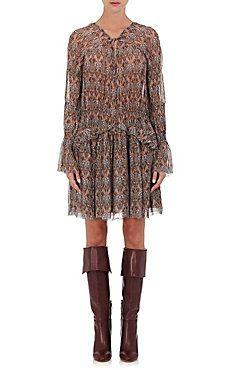0e3ea150d0 Lyz Abstract-Print Dress Designer Shoes, Designer Dresses, Ladies Dress  Design, Blouse