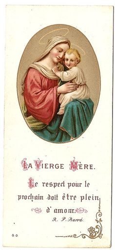 The Virgin Mother Mary & Baby Jesus Vintage by 12StarsVintage