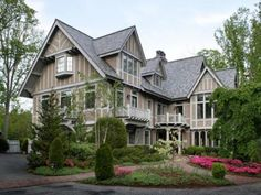 Andie MacDowell's former home near Asheville, NC