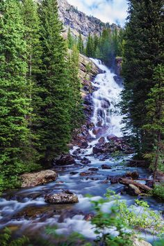 5 Vertical Hidden Falls by Kristen Ryan