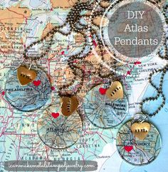DIY Atlas Pendants