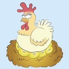 La Gallinita de los Huevos de Oro nos habla de la ambición. ¡Una importante moraleja!