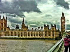 Houses of Parliament in City of Westminster, Greater London