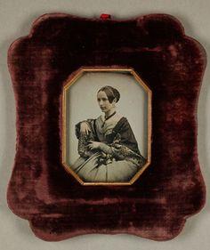 Porträt einer Frau, um 1850