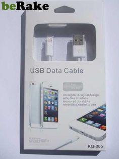 Vendo Usb cable para iphone 5, últimas unidades a un precio excepcional, pago por paypal y envio gratuito por correos....