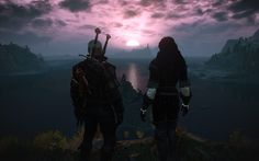 """yennefer-fan:    """"I'd go anywhere with you"""""""