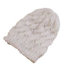 4768fe46a33 Chic Women s Solid Color Knitting Beanie Hat Beanie Hats For Women