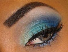maquillaje en verdes paso a paso - Buscar con Google