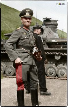 General Erwin Rommel 7th Panzer Division France May 1940