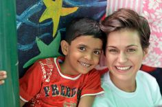 Rose of Tralee Maria visits orphans and street kids in Kolkata with the HOPE Foundation www.hopefoundation.ie