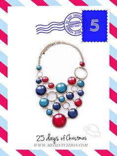 Navy Nautica Necklace