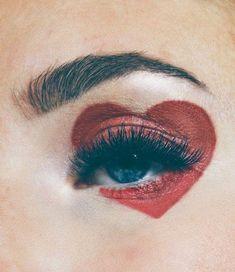 Valentinstag-Make-up-Look Shaping Pump Eyes # Valentinstag … - Schönheit Makeup Inspo, Makeup Inspiration, Beauty Makeup, Hair Makeup, Makeup Ideas, Makeup Tips, Makeup Meme, Full Makeup, Makeup Tutorials