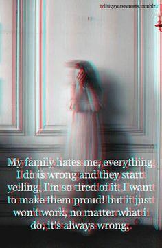 I feel worthless.