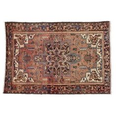 Check out this item at One Kings Lane! Persian Heriz Rug, 4'9 x 6'10