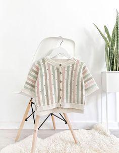 Chaqueta STRIPY de Crochet - Patrón y Tutorial - Creativa Atelier